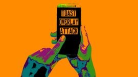 mã độc tất công android Toast
