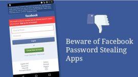 ứng dụng android đánh cắp mật khẩu facebook