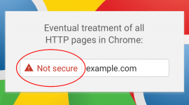 Chrome phát hành cảnh báo Not Secure màu đỏ cho HTTP