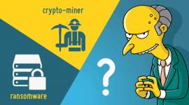 malware mới quyết định giữa việc lựa chon ransomware hoặc đào tiền ảo