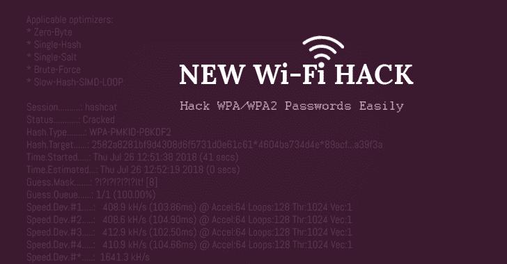 Hack wifi dễ dàng bằng cách sử dụng phương pháp tấn công mới trên WPAWPA2