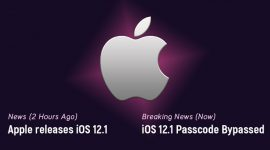 Tìm thấy cách mới để bypass passcode của iPhone chỉ vài giờ sau khi phát hành iOS 12.1