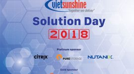 vietsunshine solution day 2018