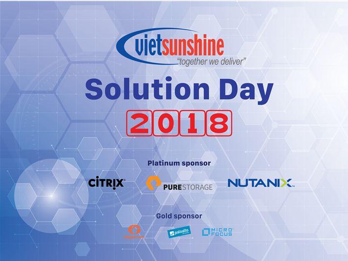 vietsunshine solution day 2018