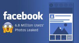 Lỗi mới của Facebook làm lộ ảnh chưa được đăng của 6,8 triệu người dùng