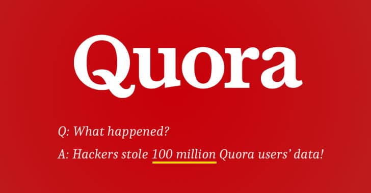 Quora bị tấn công - dữ liệu của 100 triệu người dùng bị đánh cắp
