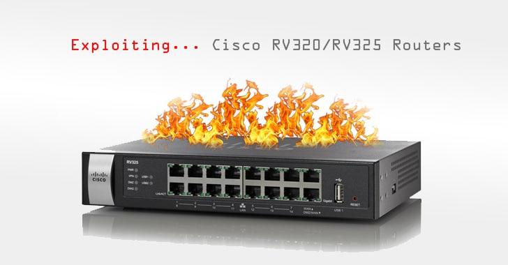 Khai thác mới đe dọa hơn 9.000 bộ định tuyến Cisco RV320, RV325