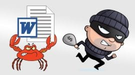 Ransomware GandCrab và virus Ursnif lây lan thông qua MS Word