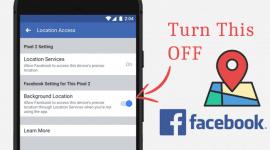 Cách ngăn chặn Facebook app theo dõi vị trí của bạn