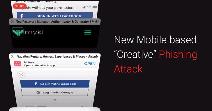 Phishing Attack mới bắt chước animation và design của trình duyệt di động