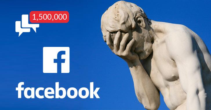 Facebook thu thập danh bạ từ 1,5 triệu tài khoản email mà không có sự cho phép của người dùng