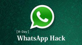 Lỗ hổng 0-Day của WhatsApp cho phép hacker cài phần mềm gián điệp