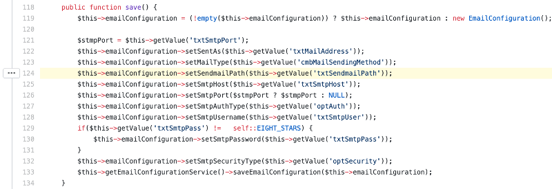 Lỗ hổng thực thi mã lệnh tùy ý trên OrangeHRM CMS_4
