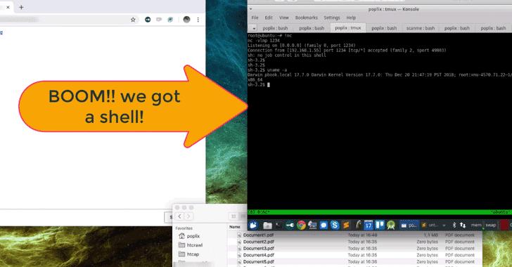Phần mềm độc hại mới khai thác lỗ hổng của GateKeeper trên macOS
