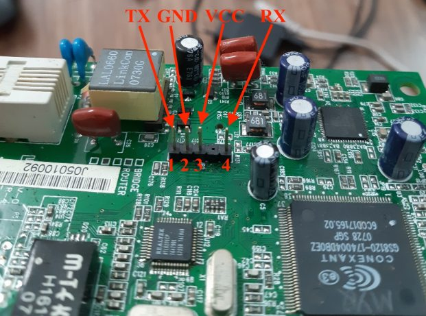 Truy cập thiết bị Router qua giao tiếp UART_9