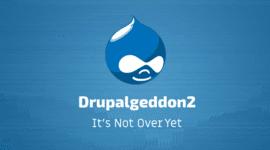 Chiến dịch mới nhắm vào lỗ hổng Drupalgeddon2 để cài đặt malware