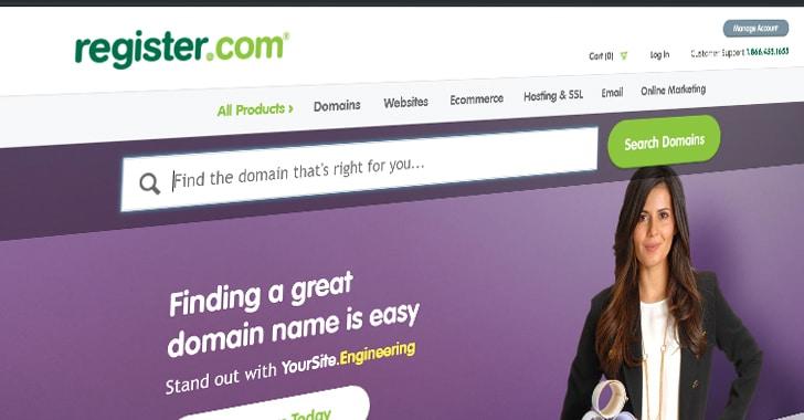 Công ty đăng ký tên miền hàng đầu thế giới bị vi phạm dữ liệu