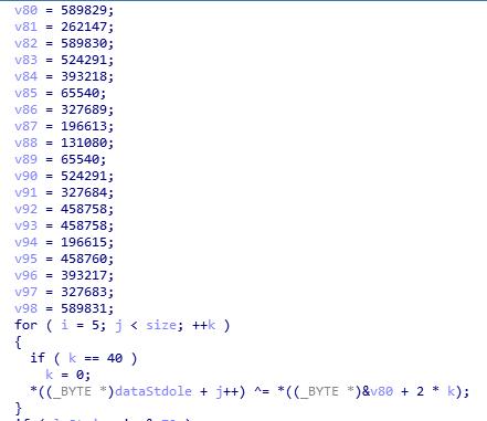 Mã độc tạo ra một vùng nhớ trong bộ nhớ và load file stdole.tlb