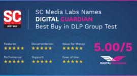 Nền tảng bảo vệ dữ liệu của Digital Guardian được xếp hạng 5 sao
