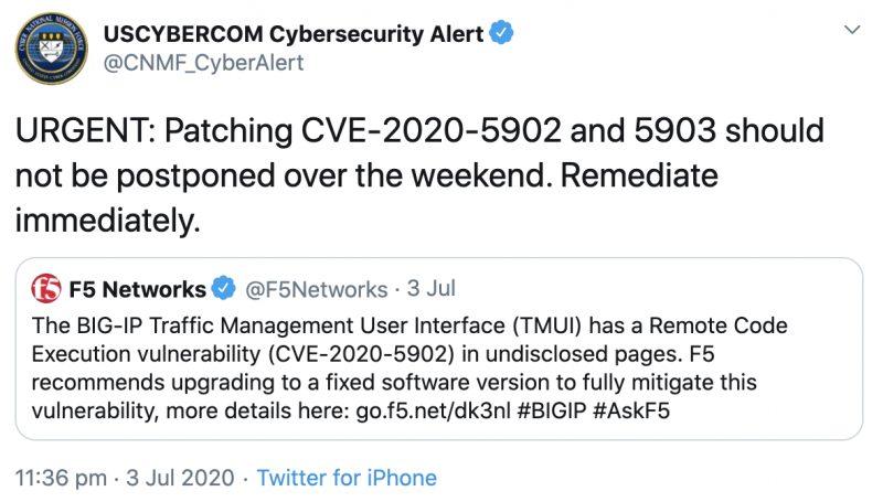 Tin tặc bắt đầu khai thác lỗ hổng trong BIG-IP của F5