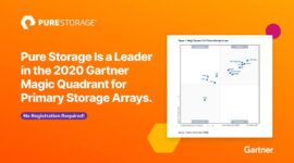 Pure Storage là leader trong Gartner 2020 cho Primary Storage Arrays
