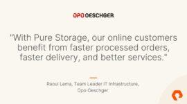 Cải thiện hiệu quả và trải nghiệm khách hàng với Pure Storage