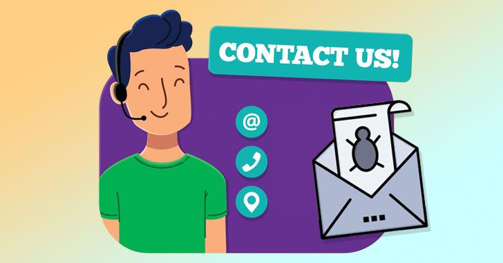 Hacker sử dụng Contact Forms trên website để phân phối malware