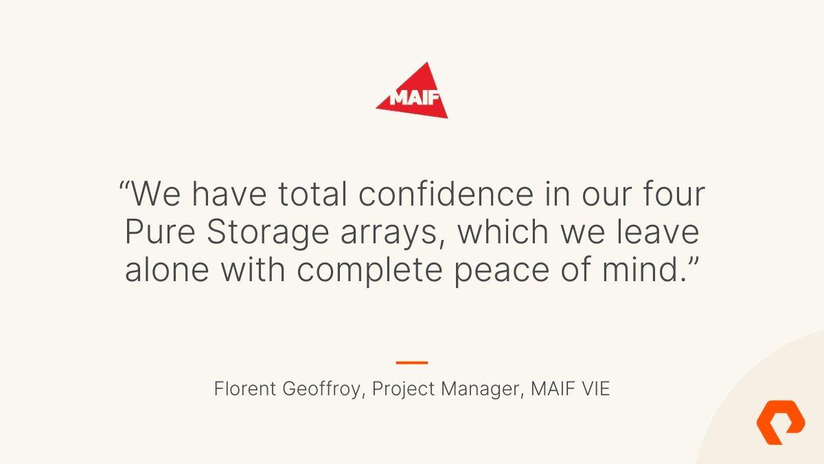 MAIF VIE đưa bảo hiểm nhân thọ lên cấp độ mới với Pure Storage