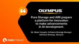 Olympus phát triển AI với sự hỗ trợ của Pure Storage