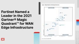 Fortinet là leader theo đánh giá của Gartner cho WAN Edge Infrastructure